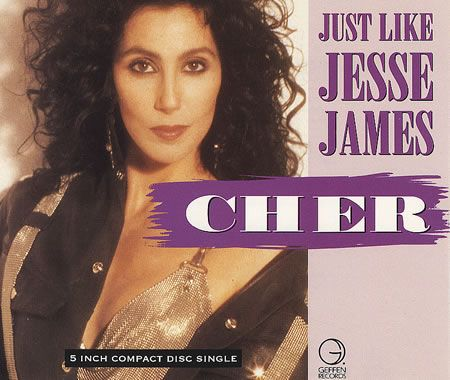 """For Sale - Cher Just Like Jesse James UK  CD single (CD5 / 5"""") - See this and 250,000 other rare & vintage vinyl records, singles, LPs & CDs at http://eil.com"""