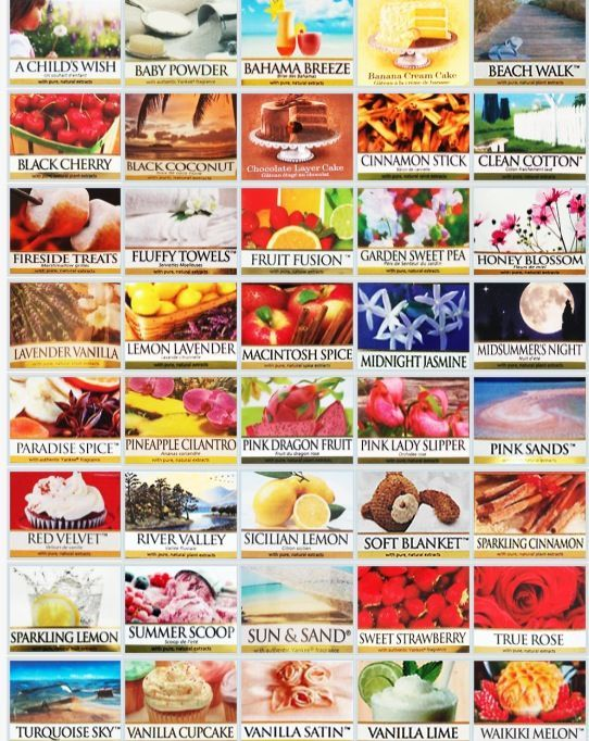 yankee candles printable labels label for miniature dollhouse candles ...