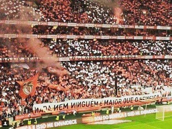"""""""Nada nem ninguém é maior que o Benfica!"""""""
