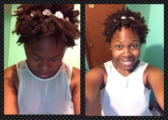Natural hair twist out!