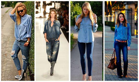 Revista Manequim - Look total jeans: aprenda a combinar peças do material mais democrático do guarda-roupa