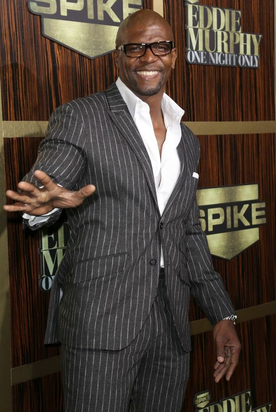 Actor fromer NFLer Terry Crews