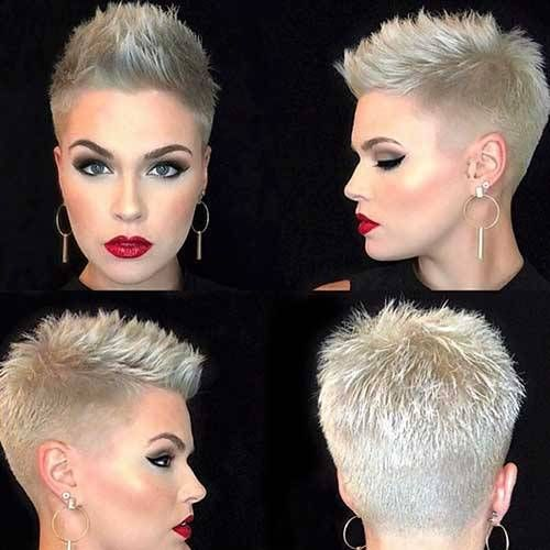 65 Besten Ideen Für Kurze Blonde Haare Kurze Frisuren