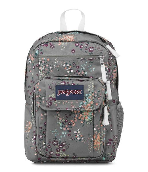 JanSport Digital Student Backpack - Shady Grey Sprinkled Floral ...