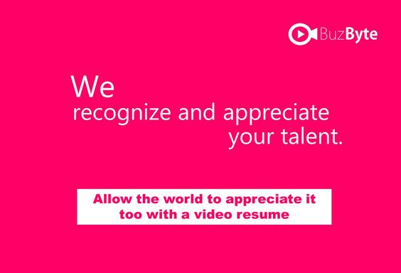 Open doors with a Video Resume at http\/\/blogbuzbyte\/2017\/01 - video resume