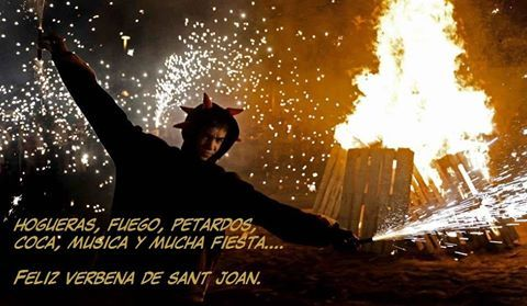24 Junio Nit de Sant Joan. Barcelona.