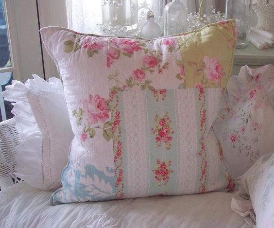 Shabby chic pillow sewing - pillows chic Pinterest Shabby chic, Inspiration and Chic