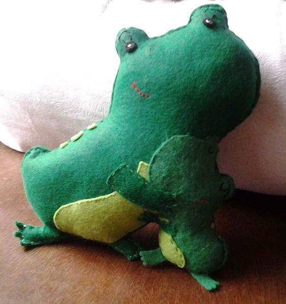 Froggy et son petit
