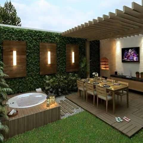 30 Diy Lighting Ideas At Night Yard Landscape With Outdoor Lights Patio Backyard Jacuzzi Outdoor