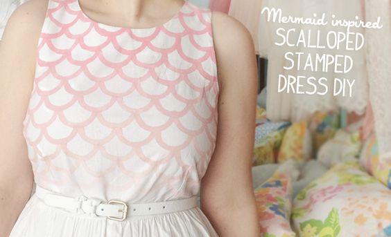 mermaidens: Guest Post | Mermaid Dress DIY from Kate