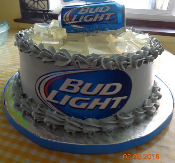 bud light tres leches cake