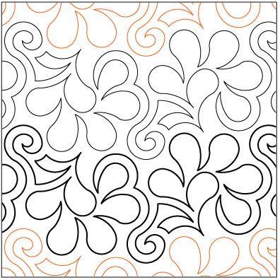 free pantograph patterns   Frisky-Feathers-quilting-pantograph ... : free pantographs for quilting - Adamdwight.com