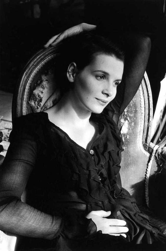 Juliette Binoche by Édouard Boubat(1995)