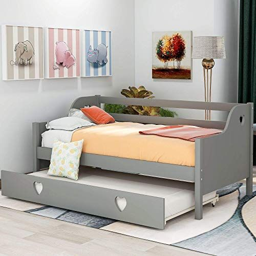 Amazing Offer On Daybed Twin Trundle Kids Weyoung Wood Standard