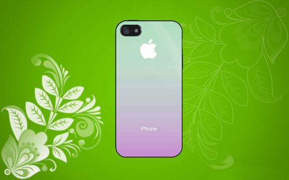 Ombre Case for iPhone, Samsung Galaxy S2/S3/S4, Samsung, HTC and Blackberry