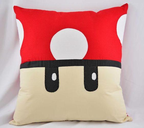 Almofada Mario Bros – Tecidos Patchwork