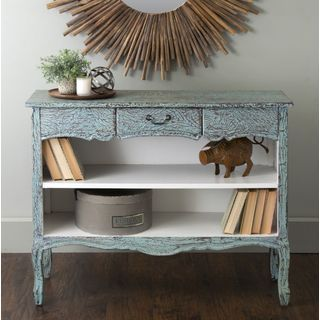 Shop for East At Main's Lanoka Green Mahogany Bookcase. Get free shipping at Overstock.com - Your Online Furniture Outlet Store! Get 5% in rewards with Club O!