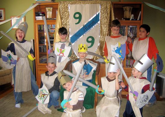 """A """"Good Knight"""" party."""