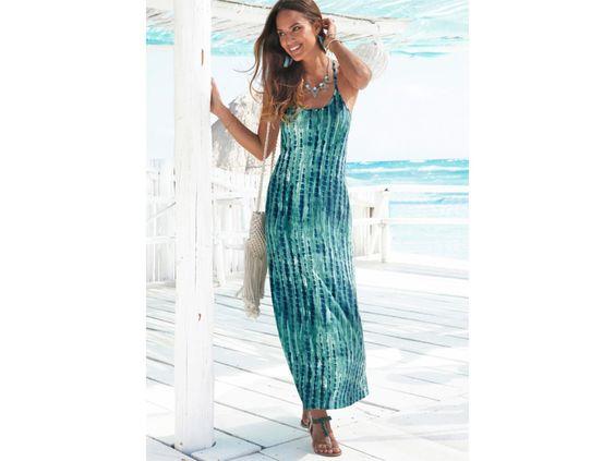 Im Ackermann Online Shop gibt es ein besonders schönes Modell von Buffalo in der Farbe Marine-Grün mit Batik Muster für 84.90 Franken. Kaufe hier dein Maxikleid: http://www.onlinemode.ch/stylisches-maxikleid-von-buffalo-fuer-84-90-bestellen/