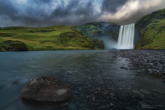 Skógafoss by Alex Lauterbach on 500px