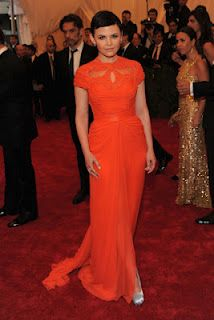 Ginnifer Goodwin wears Monique Lhuillier - Met Ball 2012