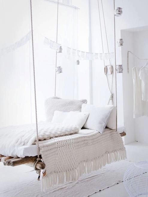 Hanging And Swinging Bed Ideas