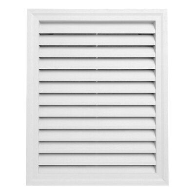 Ply Gem 30 X 24 Plastic Rectangular Louver Gable Vent Wayfair In 2020 Gable Vents Ply Gem Rectangular