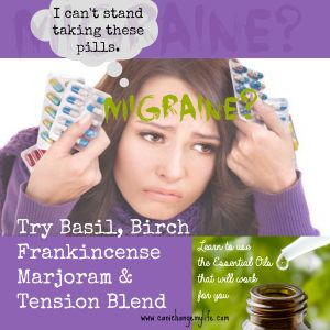 Migraines? There are many different essential oils you can try for the pain. Learn to use the essential oils that work for you. www.canichangemylife.com