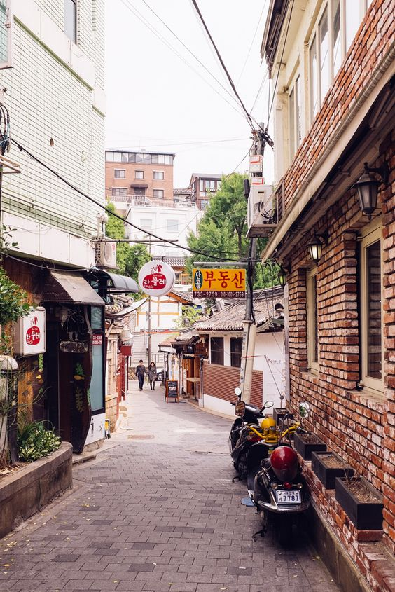 Seoul: Samcheong-dongFlickr   Instagram   Getty Images