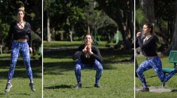 Vídeo: série turbinada de três agachamentos para fazer em casa e empinar bumbum - Bolsa de Mulher
