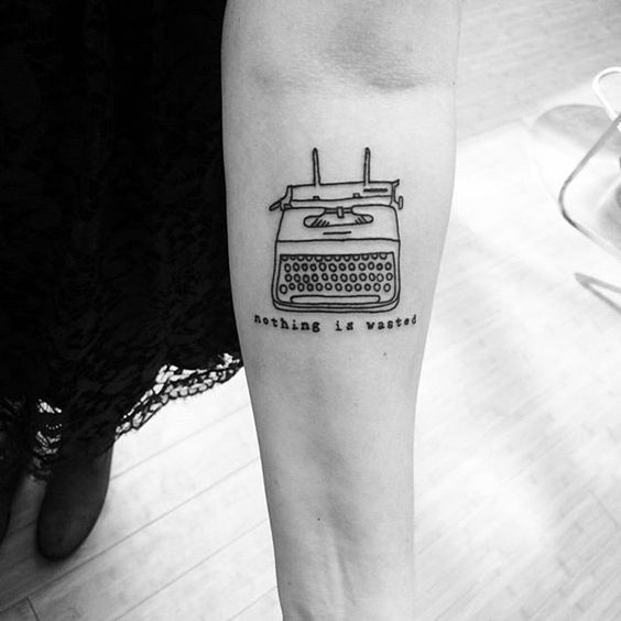 Pin for Later: 18 Inspiring Tattoos For Prolific Writers