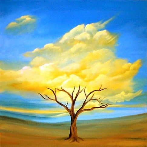 Ten Nature Painting Ideas Easy That Had Gone Way Too Far Easy Nature Paintings Surrealism Painting Nature Paintings