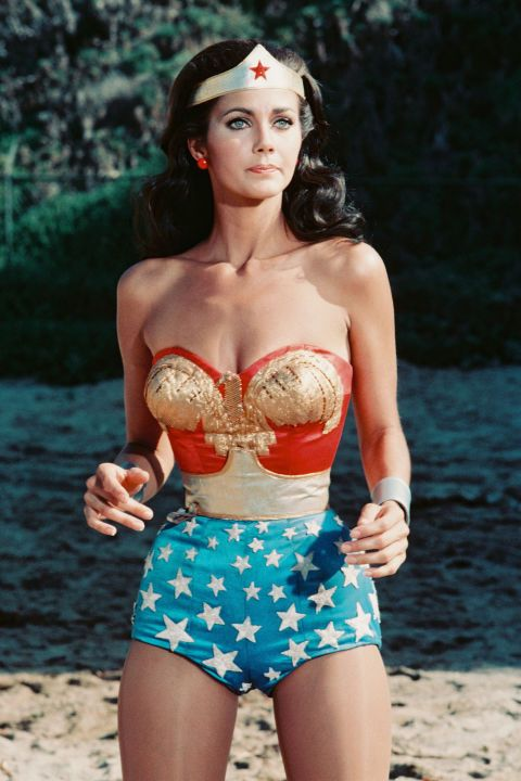 From the days of vivacious pinup girls to Old Hollywood icons à la Marilyn Monroe and Elizabeth Taylor, an hourglass physique has always made for stars. We look back at all the celebrity women over the years best known for their incredible curves: Lynda Carter.