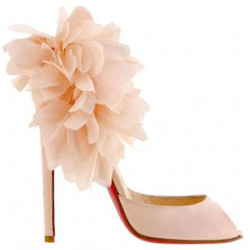 christian louboutin Really pretty shoe | Shoes for Los Cabos ...
