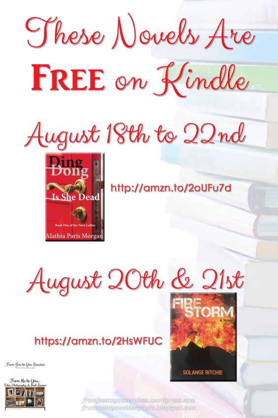 #FREE Book Offers from Alathia Paris Morgan & Solange Ritchie!