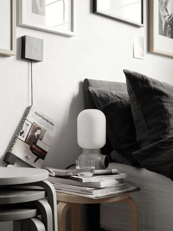Top 12 table lamps, Plug Lamp, via http://www.scandinavianlovesong.com/