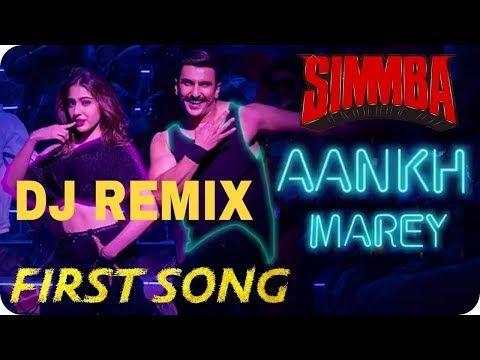Aankh Mare Dj Remix Video Youtube Songs Dj Remix Sara Ali Khan