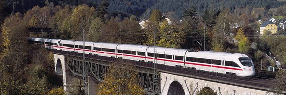 Deutsche Bahn - By 2020, we want a profitable market leader, top employers and eco-pioneer be. Sustainable corporate success and social acceptance we see as a prerequisite for our goal of becoming the world's leading passenger and logistics companies