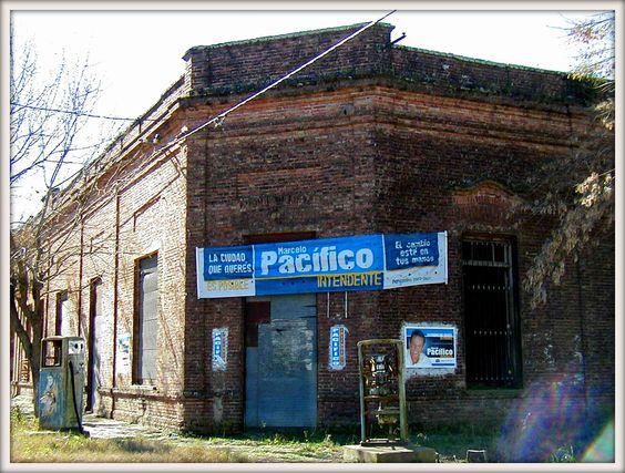 Edificio donde hoy se emplaza el museo histórico - foto año 2003