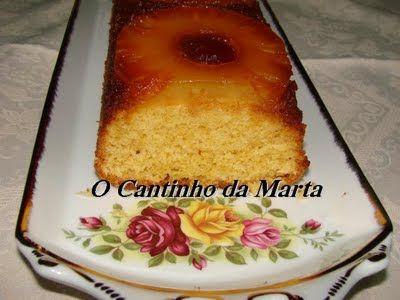 O Cantinho da Marta: Bolo de Ananás e Coco