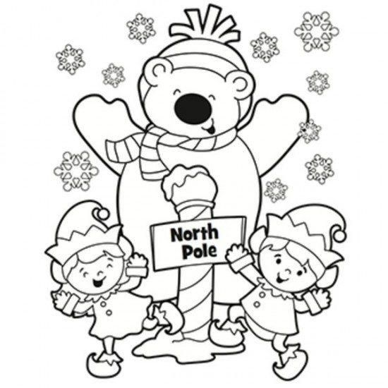 Winter Coloring Pages North Pole Printable Christmas Coloring Sheets Printable Christmas Coloring Pages Free Christmas Coloring Pages