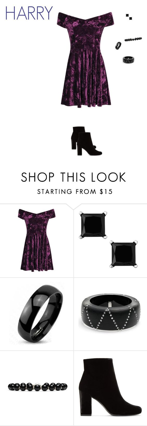 """""""Interview with Harry Connick Jr"""" by maddieshu on Polyvore featuring Boohoo, West Coast Jewelry, Alexis Bittar, Gucci and Yves Saint Laurent"""