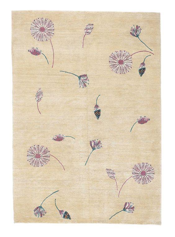 Marni Naif design rug, the Rug Company