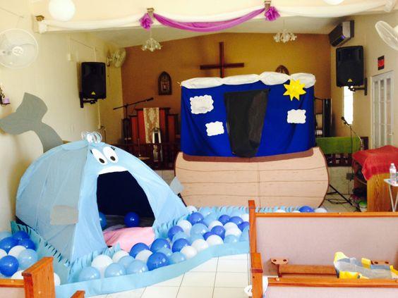 Decoracion del cuento jonas y el gran pez decoracion del for Decoracion hogar joven