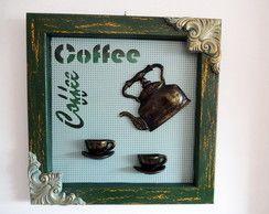 Chaleira e xícaras Coffee - Quadro