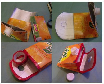 O Luxo do Lixo: O que fazes com os teus pacotes de sumo?