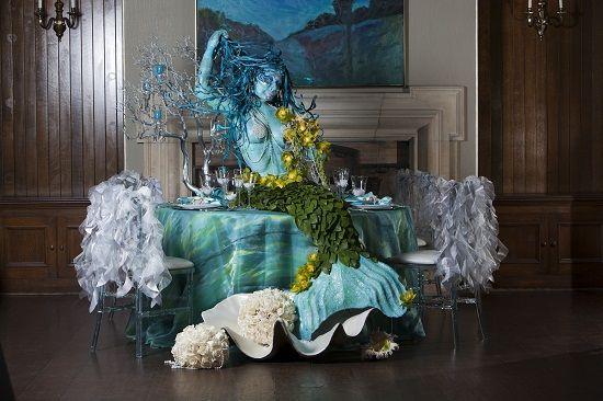 Ocean Wedding Decoration Ideas : Backs tops folklore cake table decoration wedding decorations