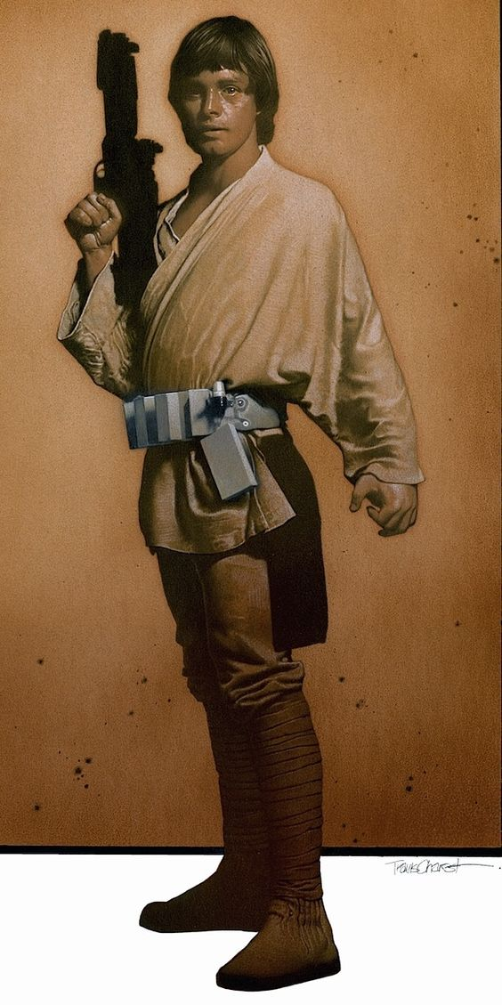 Luke Skywalker by Travis Charest