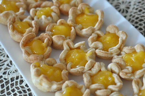 Lemon Cheese Tarts