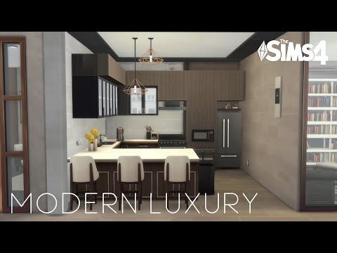 Modern Luxury Apartment No Cc Stop Motion Build The Sims 4
